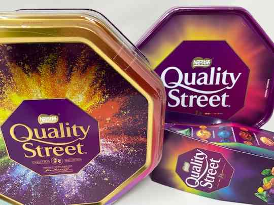 Cioccolatini e toffee assortiti «Quality Street» - 1 Kg latta