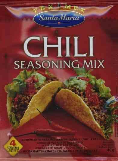 Chili seasoning mix - 40g